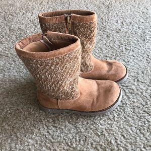 Genuine kids by OshKosh girls brown boots 9